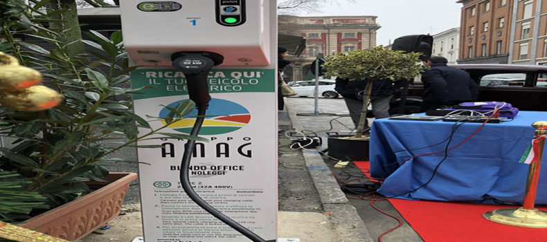 Ricarica la tua auto elettrica