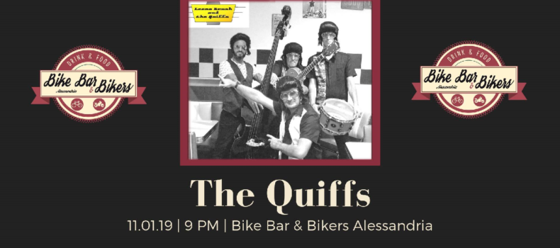 """The Quiffs"" at Bike Bar & Bikers Alessandria"