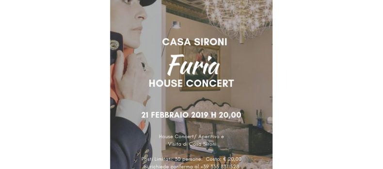 House Concert di Furia a Casa Sironi a Tortona