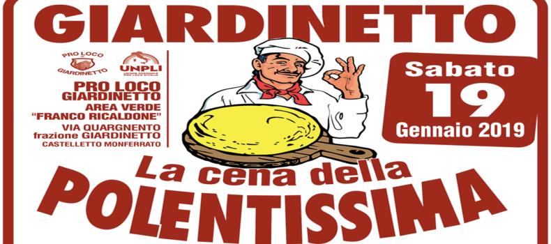 """""""Cena della Polentissima"""" a Castelletto Monferrato"""