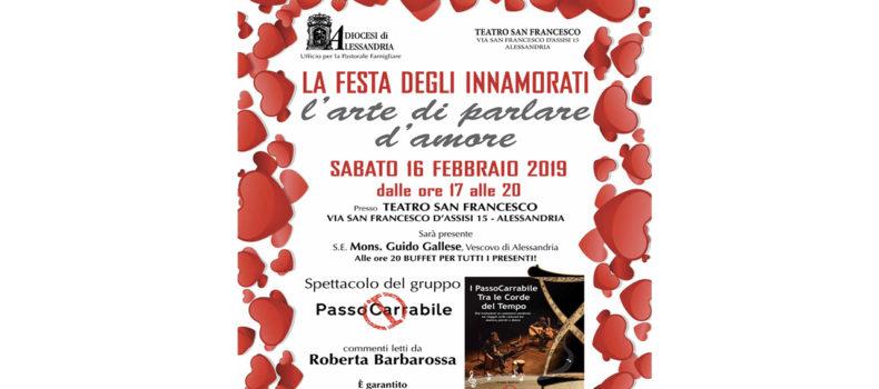"""""""L'Arte di Parlare d'Amore"""" al San Francesco"""