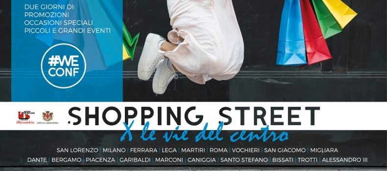 Shopping Street: due giorni di imperdibili occasioni