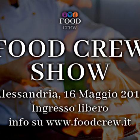 16 e 30 Maggio gli appuntamenti di Food Crew