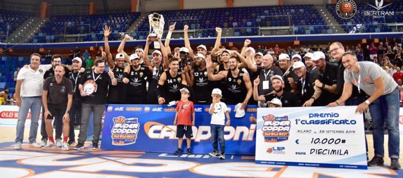 I Leoni del Derthona vincono la Supercoppa LNP