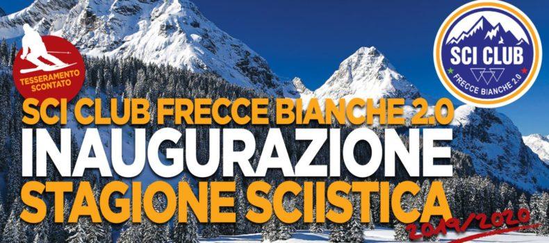 Sci Club Frecce Bianche 2.0:  inaugura la stagione sciistica