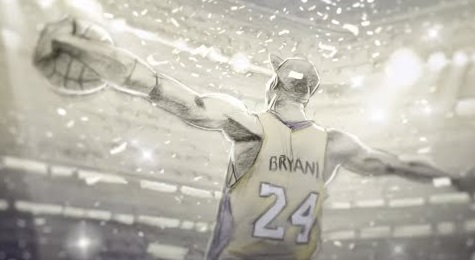 Ricordare Kobe vedendo il suo cortometraggio