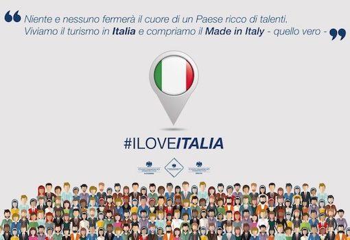 #ILOVEITALIA, la campagna di Confcommercio Alessandria