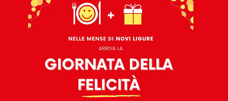 La Giornata della Felicità nelle Mense di Novi Ligure